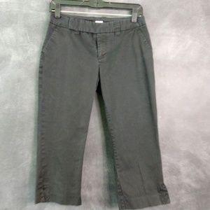 GAP | Stretch Flat Front Capri Pants